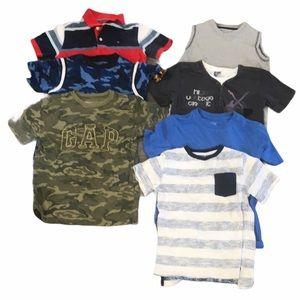 Bundle of 7 boys shirts size 6
